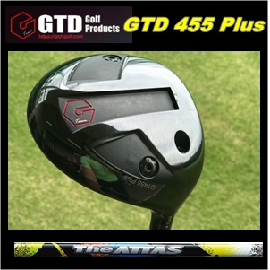 【送料無料】GTD 455PLUS 455プラスドライバーカスタム 45.75 The ATTAS ジ・アッタス