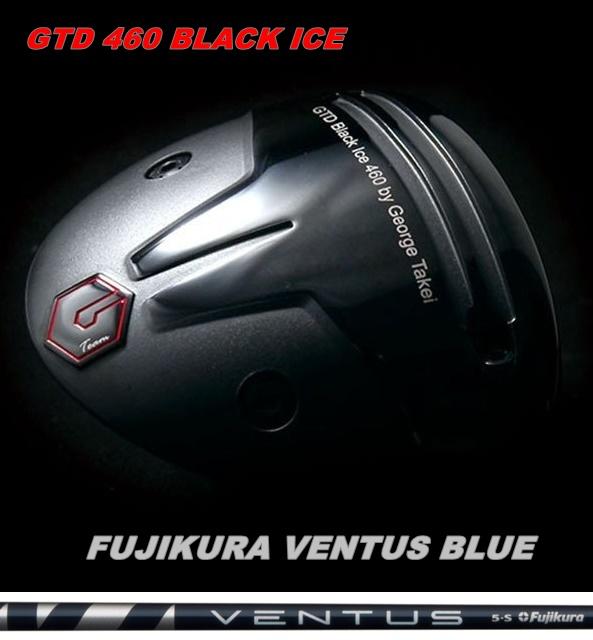 送料無料 GTD史上最大キャリー弾道 GTD 460 BLACK ICE BLUEGTD ブルー ドライバー チープ [並行輸入品] VENTUS カスタムフジクラ ヴェンタス