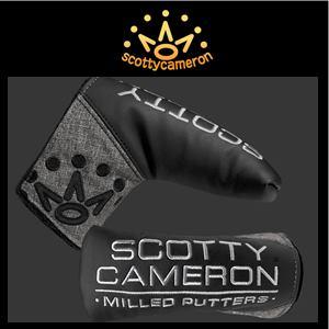 【送料無料】Scotty Cameron 2019 The OPEN LIMITED Dancing Barrels Head Cover スコッティキャメロン 2019 全英オープン 限定 ヘッドカバー『グレー/ブラック』パターカバー