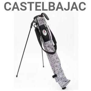 【送料無料】CASTELBAJAC カステルバジャック メンズ ロンドンモチーフ柄 セルフスタンド『シルバーグレー』【23203-313】