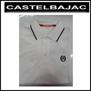 【送料無料】CASTELBAJAC カステルバジャック メンズ 長袖ポロシャツ【ホワイト】23470-307
