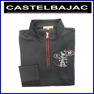 CASTELBAJAC カステルバジャック サラク-ル袖メッシュ 長袖シャツ【ブラック】レディースウェア 24470-409