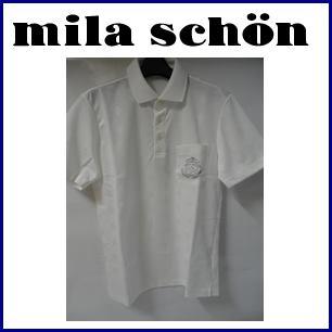 【送料無料】mila schon SPORTS ミラショーンスポーツ メンズ 半袖ポロシャツ 『ホワイト』33275-118