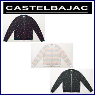 【送料無料】CASTELBAJAC カステルバジャック 薄手プリントジャージブルゾン レディースウェア【24671-222】