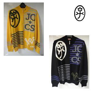 【送料無料】CASTELBJAC カステルバジャック メンズ ウール家紋+ロゴJQハーフZIPセーター【23580-111】