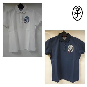 CASTELBAJAC カステルバジャック ファインクール布帛使い 半袖ポロシャツ レディースウェア【24370-216】