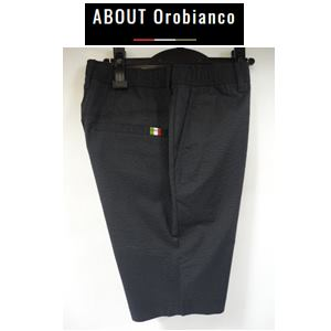 COO 公式ショップ MAX 50%OFF Orobianco 驚きの値段 オロビアンコ メンズパンツ ブラック クールMAXサッカーST 半パンツ 43145-316
