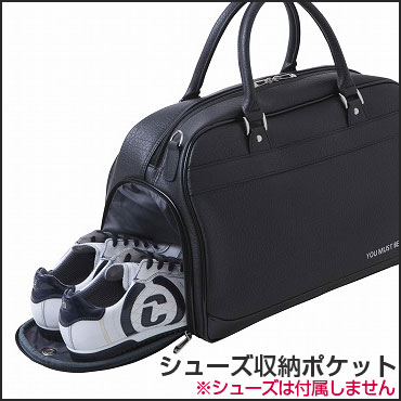Golfranger Ada Bat Adabat Pvc Leather Boston Bag Abb301