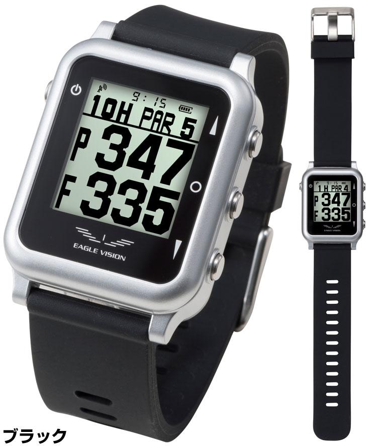 [エントリーでポイント12倍~]GPS 腕時計型ゴルフナビ レコーダー イーグルビジョン ウォッチ4 EV-717 【あす楽対応】