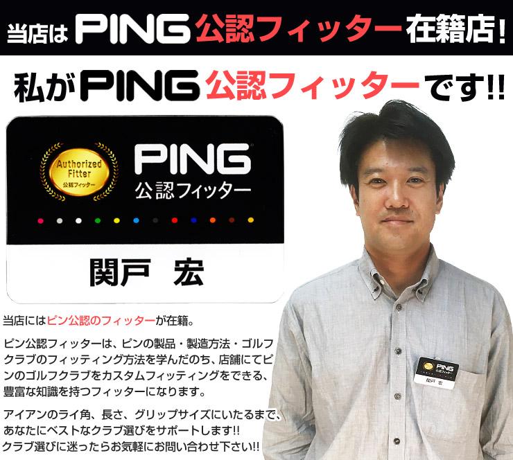 ピンGLe2レディースECHOパター特注カスタムクラブ