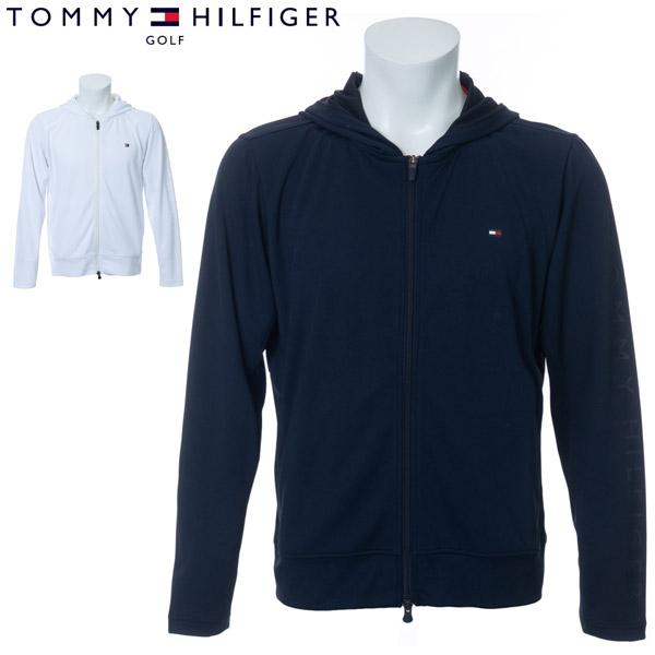 トミーヒルフィガー ゴルフ ウェア メンズ サンガード ジップアップ パーカー THMA006 2020年春夏モデル M-XL