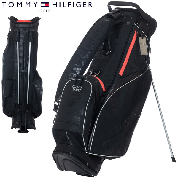 トミーヒルフィガー ゴルフ キャディバッグ テックライン スタンドバッグ THMG0SCX
