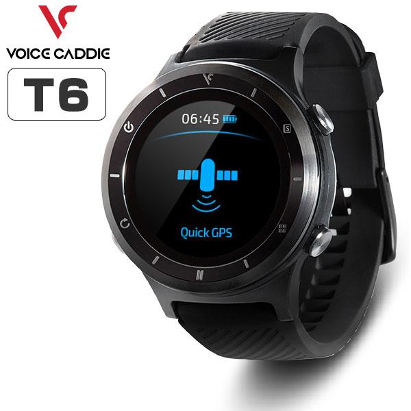 ボイスキャディ 腕時計型 GPS ゴルフナビ T6