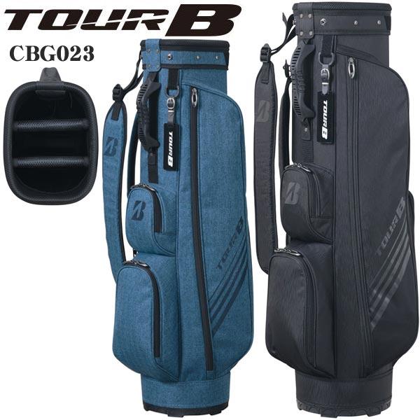 ブリヂストンゴルフ TOUR B メンズ キャディバッグ 軽量 スリムバッグ CBG023