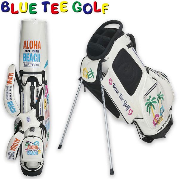 [SALE価格]ブルーティーゴルフ キャディバッグ アロハオンザビーチ スタンドキャディーバッグ CB-011