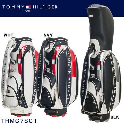 トミー ヒルフィガー ゴルフ TOMMY HILFIGER THE FACE キャディバッグ THMG7SC1