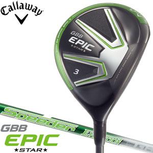 Calloway GBB EPIC STAR fairway Wood Speeder EVOLUTION for GBB shaft