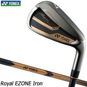 [SALE価格]ヨネックス Royal EZONE アイアン 単品[#5、#6、AW、AS、SW] XELA for Royal シャフト
