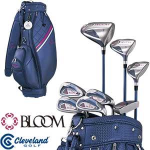 [SALE価格]クリーブランド レディース ゴルフセット BLOOM PACKAGE SET キャディバッグ付