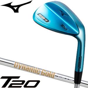 ミズノ T20 ウエッジ ブルーIP Dynamic Gold 120 シャフト