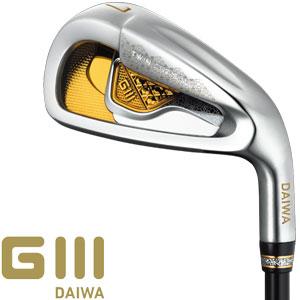 [SALE価格]グローブライド 2018 Daiwa G3 アイアン 5本セット[#7-10、Pw]