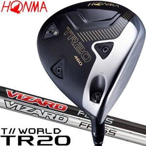 [SALE価格]本間ゴルフ ツアーワールド TR20 460 ドライバー VIZARD FD / FP シャフト