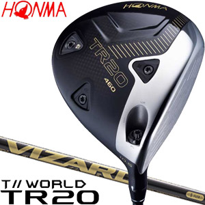 [SALE価格]本間ゴルフ ツアーワールド TR20 460 ドライバー VIZARD TR50 シャフト
