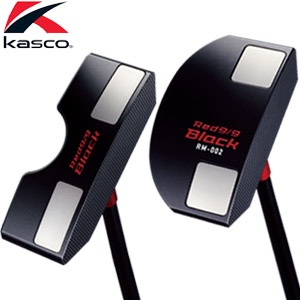[SALE価格]キャスコ Red9/9 Black パター[RM-002 / Red9/9 Black ピン]