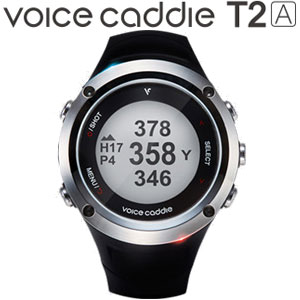 [エントリーでポイント12倍~]ボイスキャディ 腕時計型 GPS ゴルフナビ T2A
