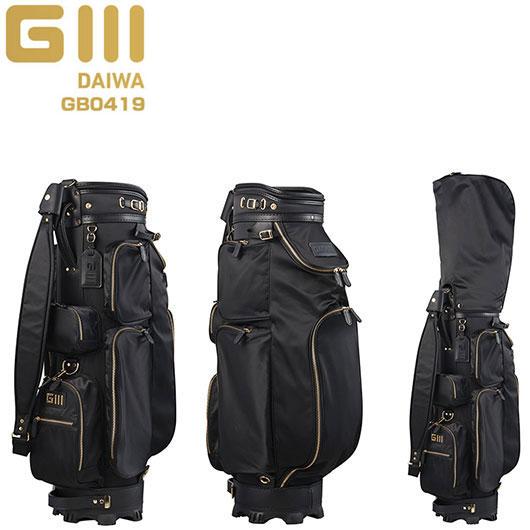 [SALE価格]グローブライド 2019 ダイワ G III シグネチャー キャディバッグ GB0419