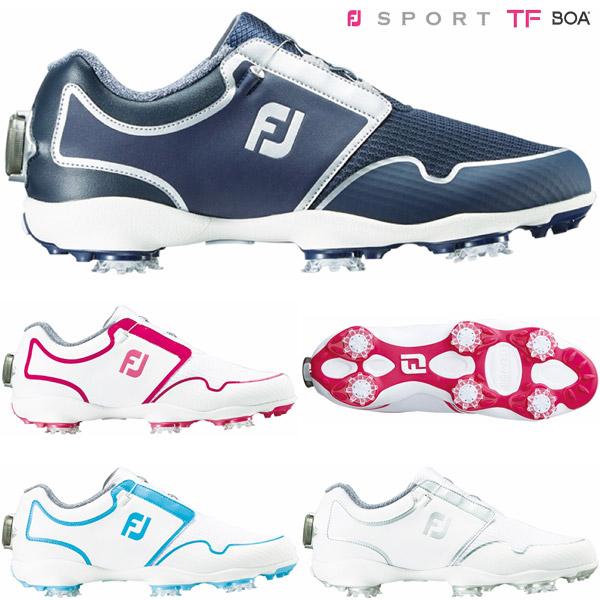[エントリーでポイント12倍~]フットジョイ ゴルフシューズ レディース FJ スポーツ TF Boa 2019年モデル