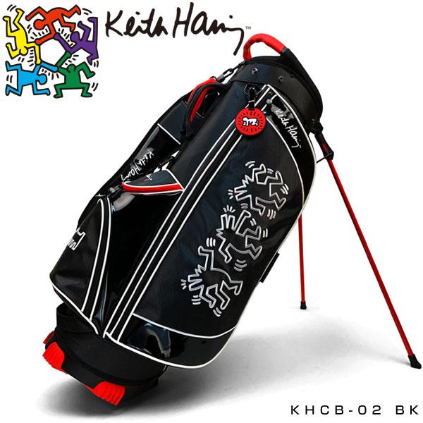キース・ヘリング ゴルフ キャディバッグ Dancing Dogs KHCB-02