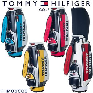 トミーヒルフィガー ゴルフ スプリット キャディバッグ THMG9SC5