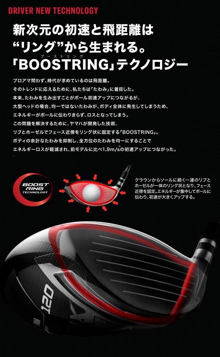 ヤマハ RMX 2020年モデル 120 ドライバー TMX-419D シャフト 特注カスタムクラブ
