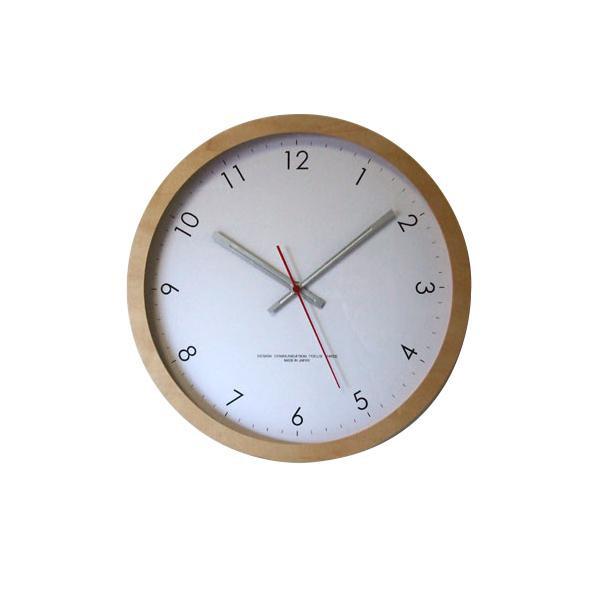 【取り寄せ・同梱注文不可】 メープルの時計 電波時計 ナチュラル V-0014【代引き不可】【thxgd_18】