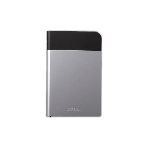 【送料無料表記がある場合でも、別途送料600円必要】BUFFALO バッファロー ICカード対応MILスペック 耐衝撃ボディー防雨防塵ポータブルHDD シルバー 1TB HD-PZN1.0U3-S HD-PZN1.0U3S
