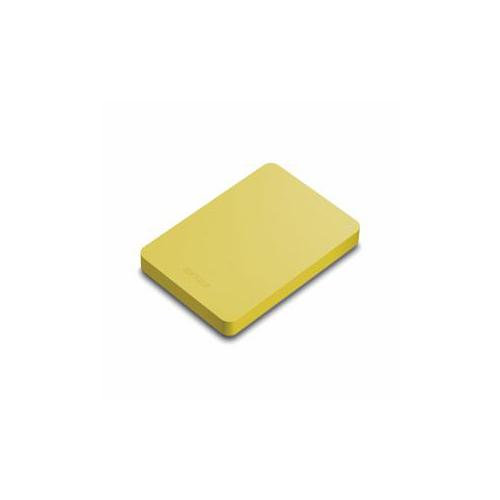 【送料無料表記がある場合でも、別途送料600円必要】BUFFALO バッファロー HD-PNF1.0U3-BYE ミニステーション ターボPC EX2 Plus対応 耐衝撃&USB3.1(Gen1)/USB3.0用ポータブルHDD イエロー 1TB HD-PNF1.0U3-BYE