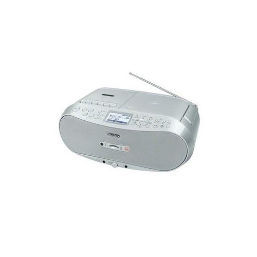 【送料無料表記がある場合でも、別途送料600円必要】ソニー CDラジオカセットコーダー (シルバー) CFD-RS501-C