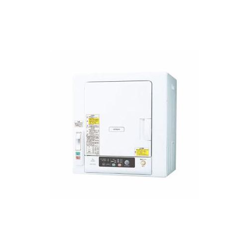 【送料無料表記がある場合でも、別途送料600円必要】日立 衣類乾燥機 (乾燥6.0kg) ピュアホワイト DE-N60WV-W