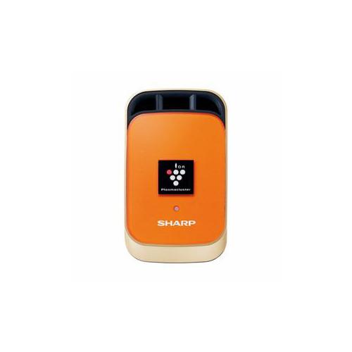 【送料無料表記がある場合でも、別途送料600円必要】SHARP IG-KC1-D 車載用プラズマクラスターイオン発生機 カーエアコン取付タイプ マーマレードオレンジ