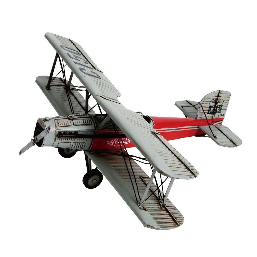 【取り寄せ・同梱注文不可】 ブリキのおもちゃ(biplane) 27476【代引き不可】【thxgd_18】