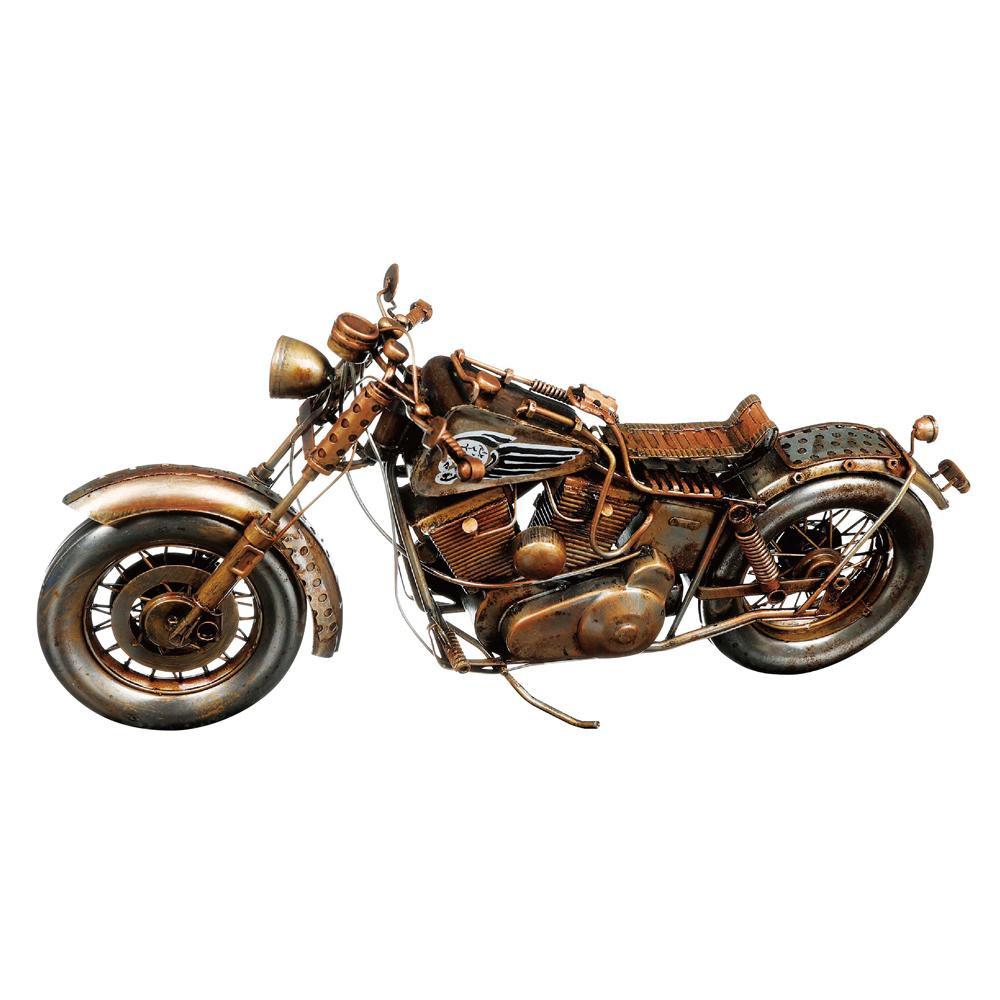 【取り寄せ・同梱注文不可】 ブリキのおもちゃ(motorcycle) 27618【代引き不可】【thxgd_18】