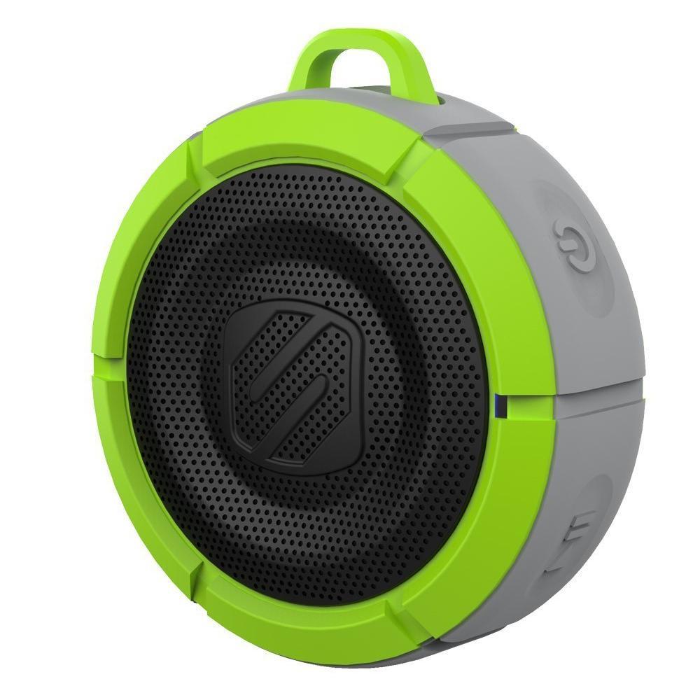 【取り寄せ・同梱注文不可】 SCOSCHE BoomBuoy 水に浮く Bluetoothワイヤレススピーカー グリーン/グレー【代引き不可】【thxgd_18】