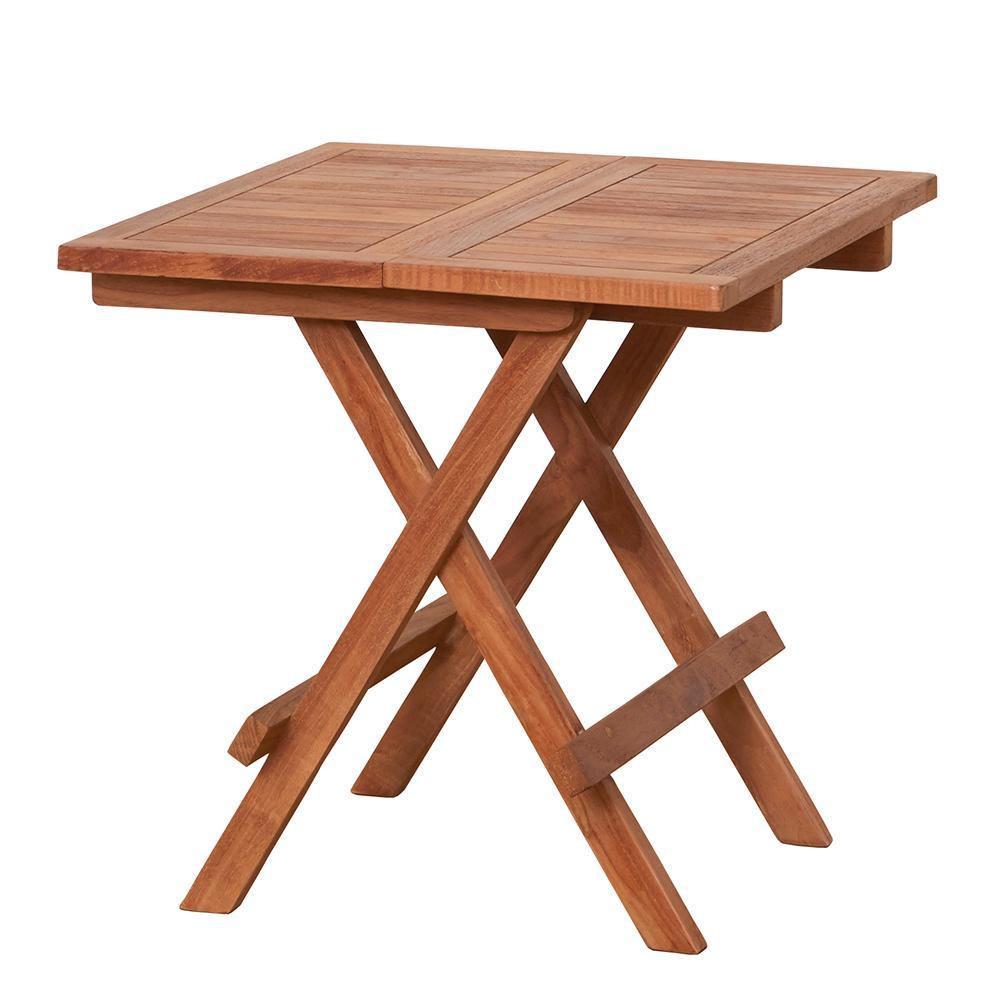 【送料無料】【取り寄せ・同梱注文不可】 チークテーブル 折りたたみ式 55000【代引き不可】【thxgd_18】