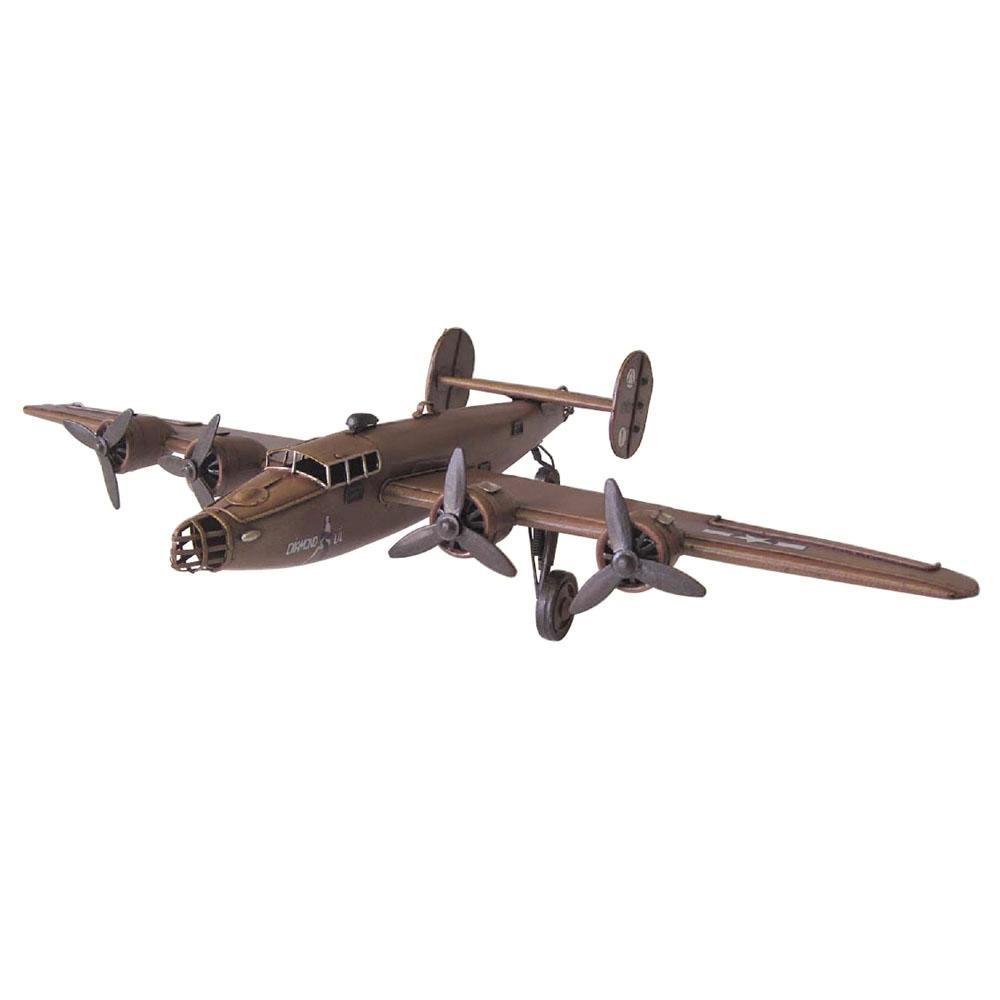 【取り寄せ・同梱注文不可】 アンティークオブジェ ブリキのおもちゃ(fighter) 27580【代引き不可】【thxgd_18】