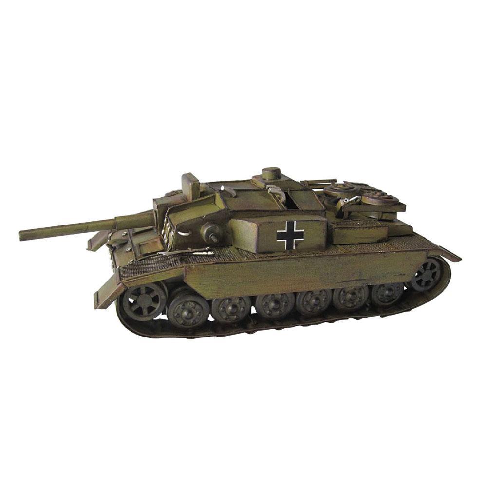 【取り寄せ・同梱注文不可】 アンティークオブジェ ブリキのおもちゃ(tank) 27575【代引き不可】【thxgd_18】