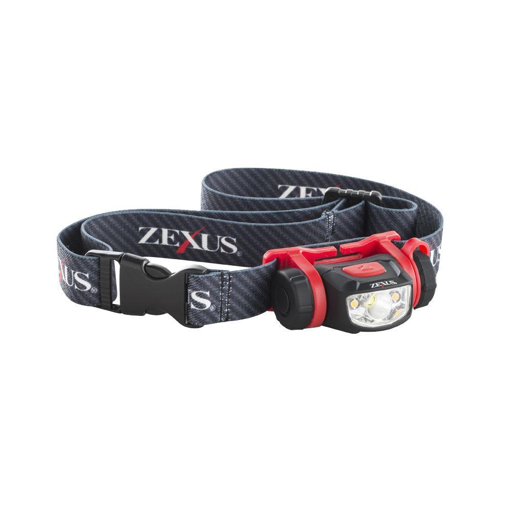 【取り寄せ・同梱注文不可】 LEDヘッドライト 100lm 多機能スタンダードモデル ZX-S250【代引き不可】【thxgd_18】