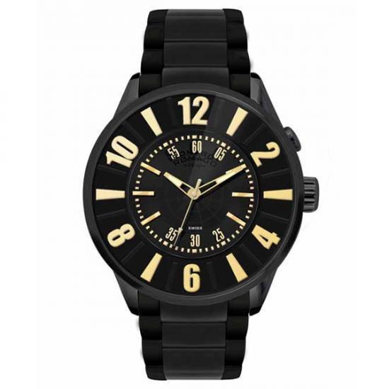 【取り寄せ・同梱注文不可】 ROMAGO DESIGN (ロマゴデザイン) Numeration series ヌメレーションシリーズ 腕時計 RM007-0053SS-GD【代引き不可】【thxgd_18】