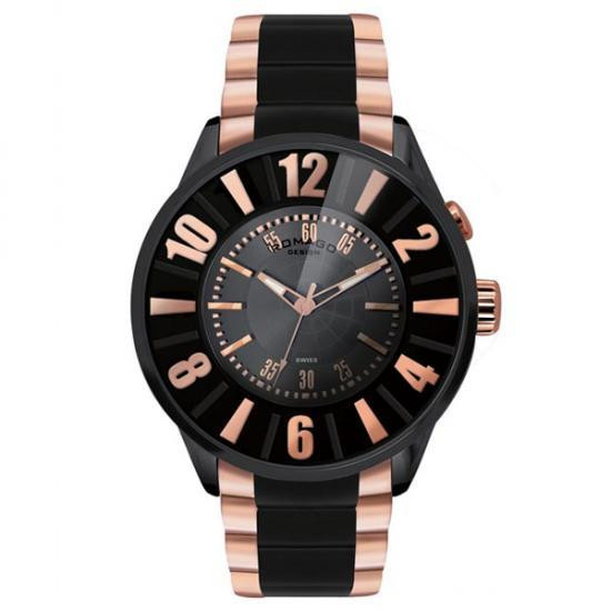 【取り寄せ・同梱注文不可】 ROMAGO DESIGN (ロマゴデザイン) Numeration series ヌメレーションシリーズ 腕時計 RM007-0053SS-RG【代引き不可】【thxgd_18】