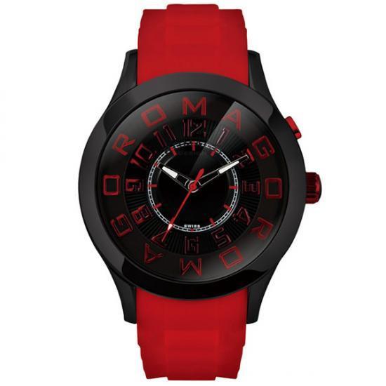 【取り寄せ・同梱注文不可】 ROMAGO DESIGN (ロマゴデザイン) Attraction series アトラクションシリーズ 腕時計 RM015-0162PL-BKRD【代引き不可】【thxgd_18】